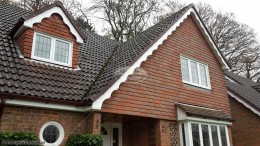 Ogee guttering decorative fascias and soffits