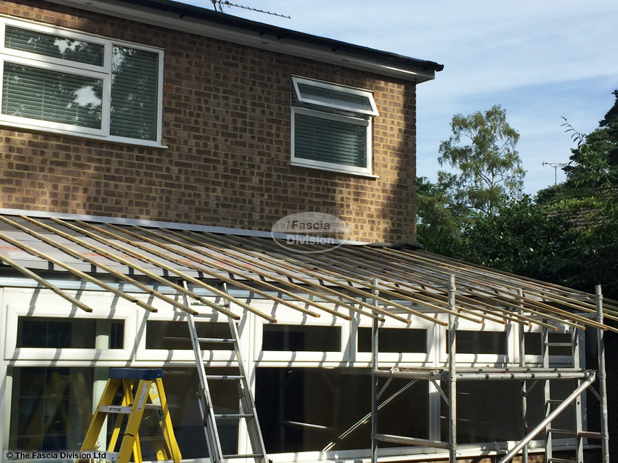 Replace Roof On A Lean To Conservatory With Equinox Roof The Fascia Division Salisbury