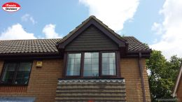 New fascias, soffits and guttering