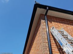 UPVC guttering, fascia and soffit