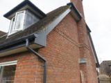 anthracite fascias, white soffit with anthracite guttering